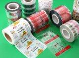 Película laminada alta calidad de la bolsa plástica de Pet/VMPET/PE