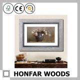 Decoração de madeira do frame de retrato do diploma da arte do mosaico