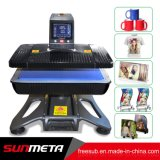 Máquina neumática de múltiples funciones de la sublimación del vacío 3D para la prensa del calor de la camiseta