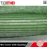 Grüne landwirtschaftliche Farbton-Filetarbeit für Pflanze