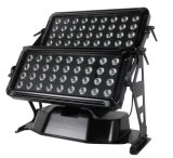 Luz de la colada de LED72PCS/60PCS RGBW4in1 LED