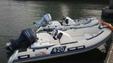 13.12FT de Boot van de rib, de Opblaasbare Boot van de Glasvezel, de Vissersboot van de Sport, Rib390c