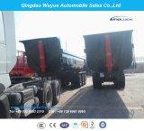 세미트레일러 또는 트럭 쓰레기꾼을 기울이는 3개의 차축 덤프