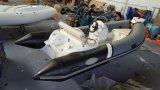 barca della nervatura di 13.12FT, crogiolo gonfiabile di vetroresina, barca di pesca sportiva, Rib390c