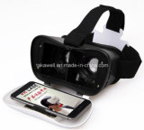 3.5-6.0 인치 Smartphone를 위한 고품질 Vr 상자 2.0 버전 Vr 케이스 가상 현실 3D 유리 헬멧 Google 마분지 게임 또는 영화