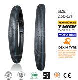 Neumático dual 2.75-17 del frente del neumático del deporte del neumático de la motocicleta de la fábrica