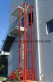 10m固定垂直安定板の油圧貨物上昇