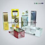 Rectángulo claro reciclable del empaquetado plástico del jabón del doblez suave plástico claro del rectángulo