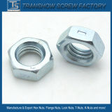 Acero al carbono Hex Nut