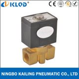 """"""" Elettrovalvola a solenoide normalmente chiusa ad azione diretta materiale d'ottone di 2 modi Vx2120-08 1/4"""