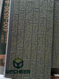Панель сандвича низкой цены панели украшения стены конструкции Ce стандартная деревянная для России