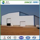 Magazzino a buon mercato prefabbricato Sudafrica della struttura d'acciaio