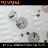 13.56MHz etiqueta engomada clásica programable del PVC MIFARE NFC RFID