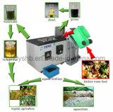 spreco di alimento della cucina di capienza 500kg/Day che concima con la composta macchina, macchina di Decomposer dello spreco di alimento