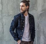 Mantel-Jeans-Umhüllung Soem-Baumwolleinfacher Form-Herbst-der spätesten Freizeit-Männer