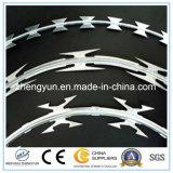 Колючая проволока лезвия бритвы изготовления поставщика Китая