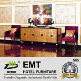 Tableau de console chaud d'hôtel de vente avec la chaise (EMT-CA09)