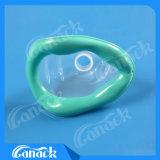 Masque médical remplaçable de PVC d'anesthésie
