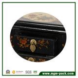 Большая стоящая коробка хранения ювелирных изделий зеркала