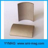 De hoge Werkende Magneet van SmCo van de Vorm van de Boog van het Kobalt van het Samarium van de Temperatuur voor Motor