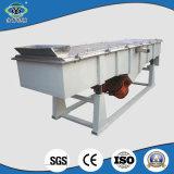 Tamiz vibratorio linear del acero de carbón del bajo costo para tamizar pelotillas del papel usado