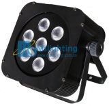 El LED Plat la luz multicolora ligera de la arandela de la pared de PAR/Stage 7*10W RGBW 4in1 LED