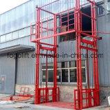 移動材料のための縦油圧倉庫の商品上昇