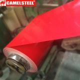 공장 가격은 직류 전기를 통한 강철 코일 색깔에 의하여 입힌 강철 코일을 Prepainted