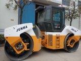 13 Tonnen-volle hydraulische doppelte Trommel-Straßen-Rolle (JM813H)