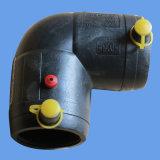 Сплавливание HDPE тройника Electro уменьшая приспособление для воды/поставки газа