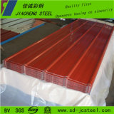China-gute Qualitätsvorgestrichenes StahlCorregated Blatt für Gebäude