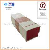 Boîte à vin de papier de cadeau de qualité de Hight avec la fermeture magnétique