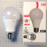 Lampadina chiara economizzatrice d'energia della lampada E27 5W 7W 9W 12W A60 LED per la casa