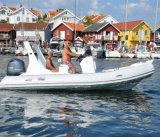Liya 19ft Luxuxrippen-Boots-steifes aufblasbares Boot mit Motor