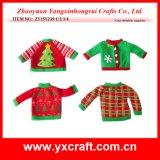 크리스마스 스웨터, 크리스마스 포도주 스웨터 훈장 병 크리스마스