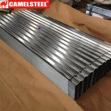 feuille ondulée de toiture de zinc de 0.12-0.5mm
