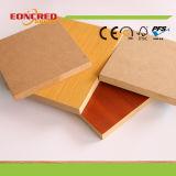 Прокатанная меламином доска MDF и HDF для мебелей и прыгая стен