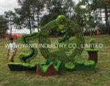 Künstliches Gras-Pferd für Garten-Dekoration