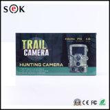 macchina fotografica nera facoltativa della traccia di caccia di sistema di gestione dei materiali di GSM della protezione dell'esploratore di rilevazione 940nm 850nm Camo di movimento di 12MP 1080P PIR