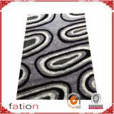 Couvre-tapis antidérapant de tapis Shaggy pelucheux