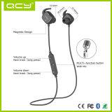Qy12 de Magnetische Hoofdtelefoon van het Halsboord van Bluetooth van de Sport van de Schakelaar Stereo met Waterdicht
