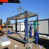 Chambre modulaire de conteneur de paquet plat de construction pour l'accommodation