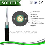GYXTW 2-24 Cores Application per Aerial/Duct /Direct Burial Fiber Cable /G652D Fiber Optical Cable