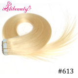 100% Indian Remy Hair Seamless PU Skin Weft Hair Extensions #Lila