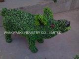 De openlucht Grote Rinoceros van het Gras van de Grootte Kunstmatige