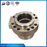 OEM D2ステンレス鋼の鋼鉄機械CNCのフライス盤の金属部分