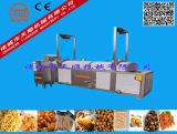 Coalhada de feijão, feijões, amendoins, produtos vegetais, máquina de fritura automática