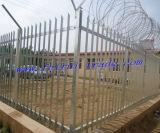 電気通信タワーのための熱い浸された電流を通された柵の塀