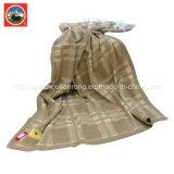 Ткань одеяла/кашемира решетки шерстей верблюда/простыня/постельные принадлежности шерстей яков тканье/
