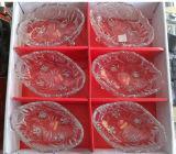 Articoli per la tavola incisi della ciotola di vetro con il buon prezzo Kb-Hn0203